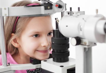 Children eye examination