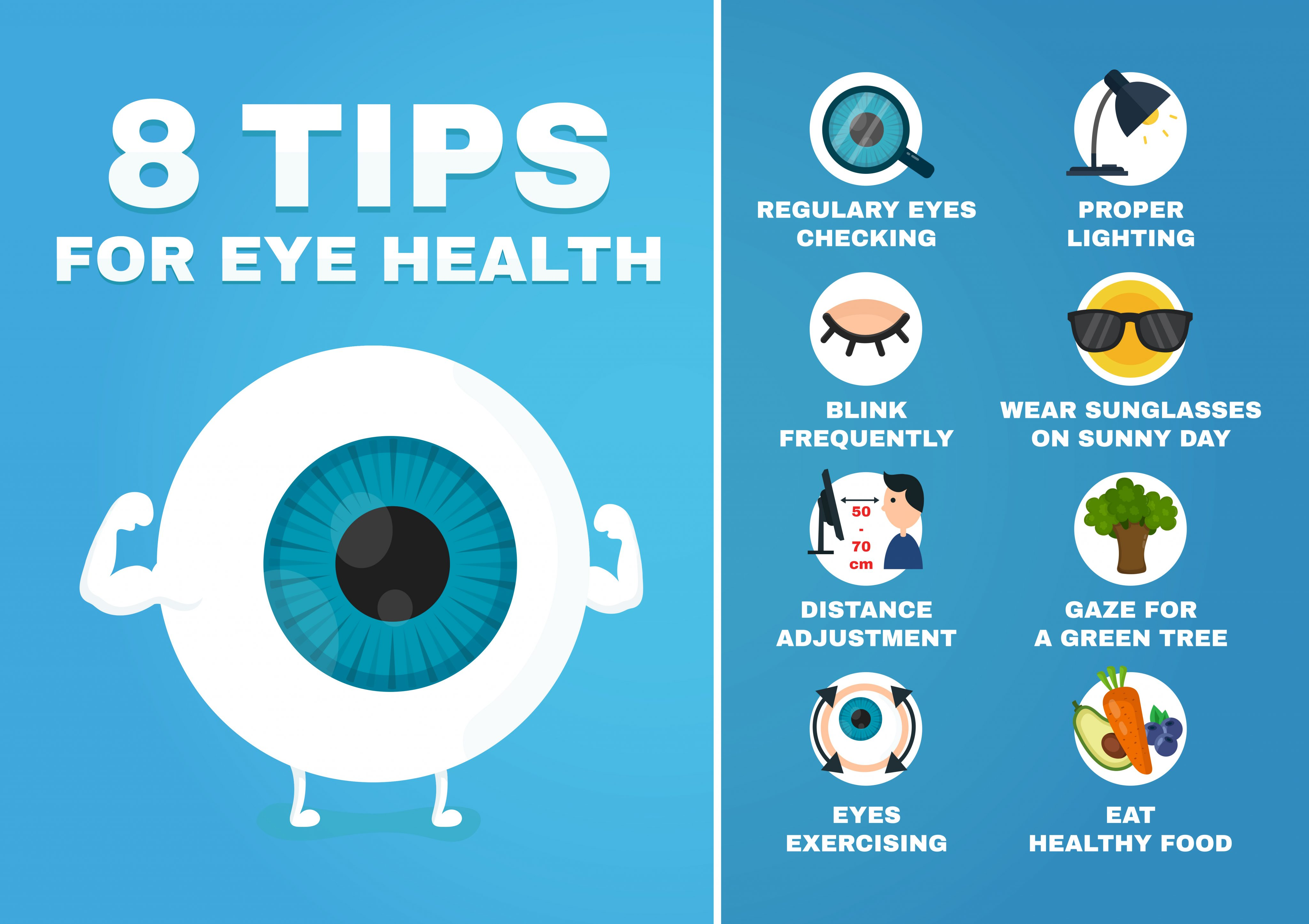 8 Tips for healthy eyes | Passano Opticians